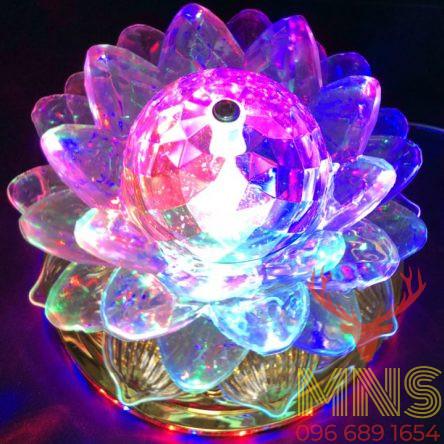 Đèn Xoay Hoa Sen 360 Độ Lotus LanternP